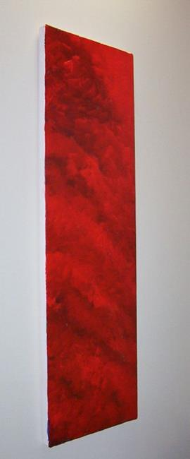 Art: Red Inferno - sold by Artist Gallery Elite