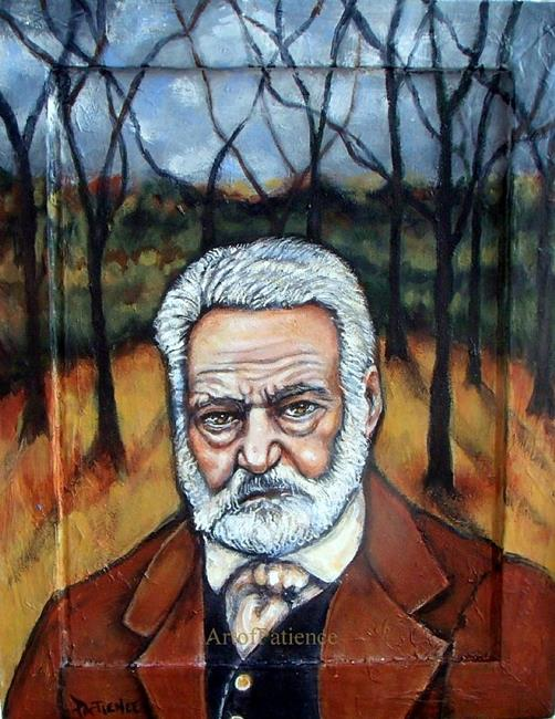Art: L'Automne: Victor Hugo Tribute Portrait by Artist Patience