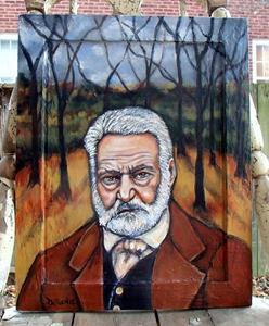 Detail Image for art L'Automne: Victor Hugo Tribute Portrait