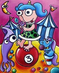 Art: Big Top Jenny by Artist Tori Siegel
