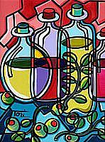 Art: Olive Oil by Artist Tori Siegel