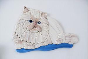 Detail Image for art Persian Cat