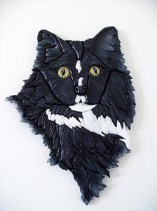 Detail Image for art Black cat