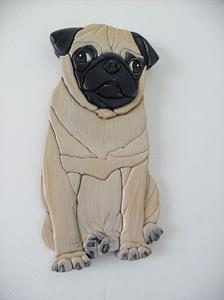 Detail Image for art Pug Puppy.....