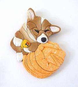 Detail Image for art Corgi Dog