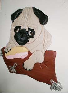 Detail Image for art Pug Dog