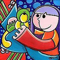 Art: Citrus Kitty by Artist Tori Siegel