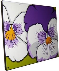 Detail Image for art Paternal Pansies