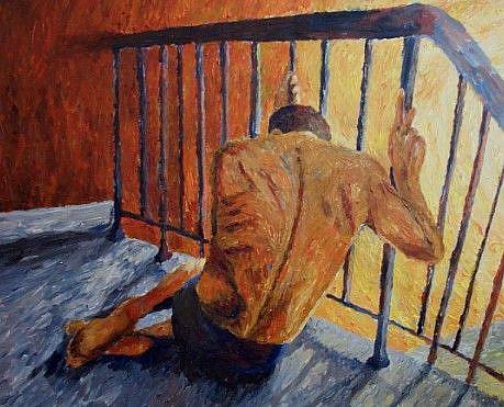 Art: Despair by Artist Mats Eriksson