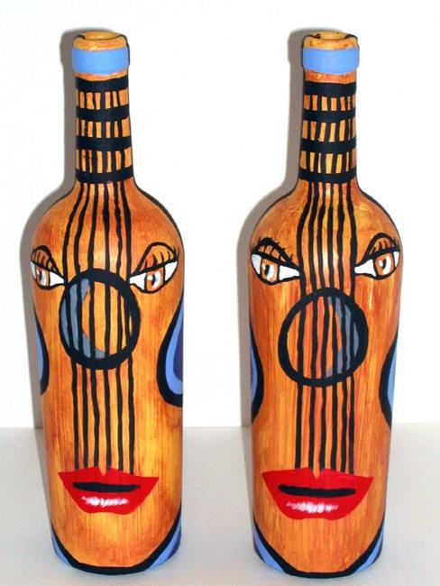 Art: Wine, Women and Song Pts 1 & 2 by Artist Diane G. Casey