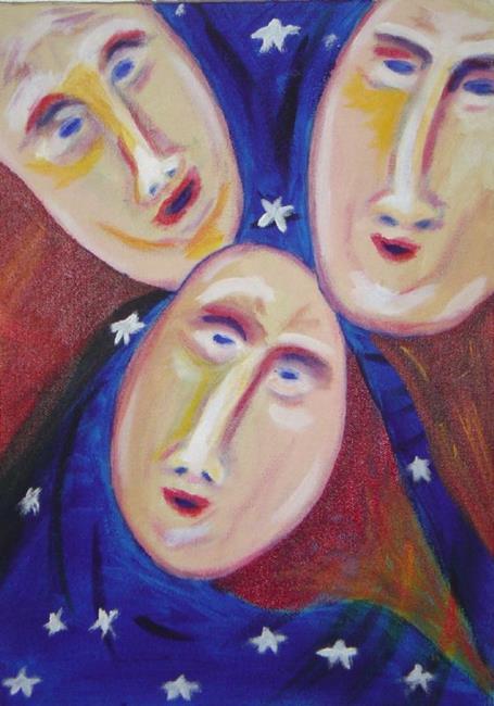 Art: Three Graces by Artist Richard Holland