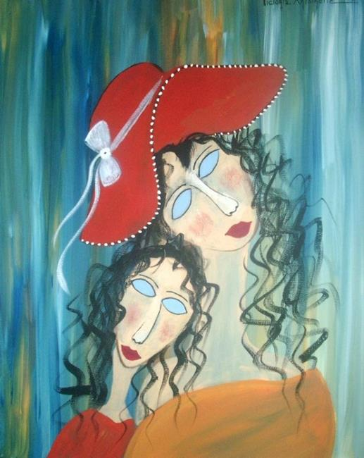 Art: Melancholy by Artist Vyckie Van Goth
