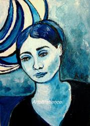 Art: NFAC: ACEO:  'Moon Dancer by Artist Patience