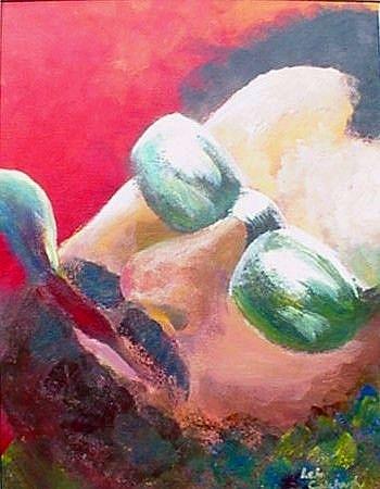 Art: Jazzman by Artist Lelo Colclough