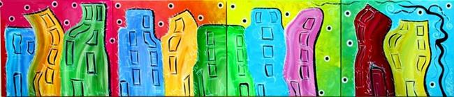 Art: City of Color by Artist Laura Barbosa