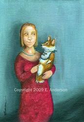 Art: 'Feed Me' Eyes by Artist paintedbyevie