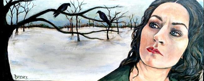 Art: Dust of Snow (Robert Frost) by Artist Patience