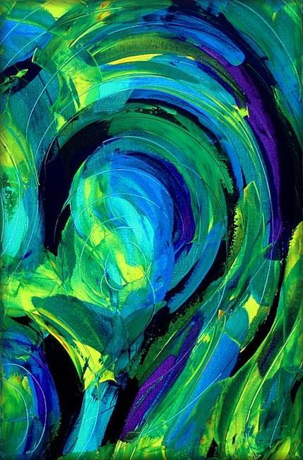 Art: Jabberwocky by Artist Amanda Hone