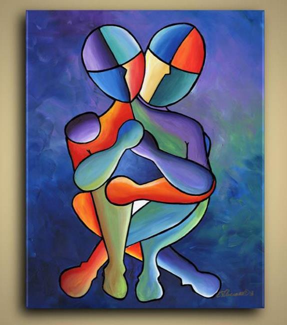 Art: Eterno Amore by Artist Elena Feliciano