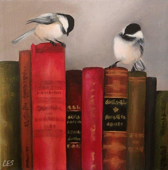 Art: Knowledge Seekers by Artist Christine E. S. Code ~CES~