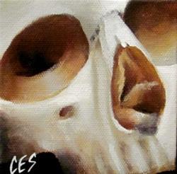 Art: 29 Faces: Skull #20 by Artist Christine E. S. Code ~CES~