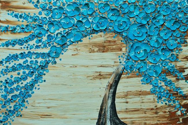 Art: The Water Blossom Tree Limited Edition Print (02/50, sold) by Artist Amber Elizabeth Lamoreaux