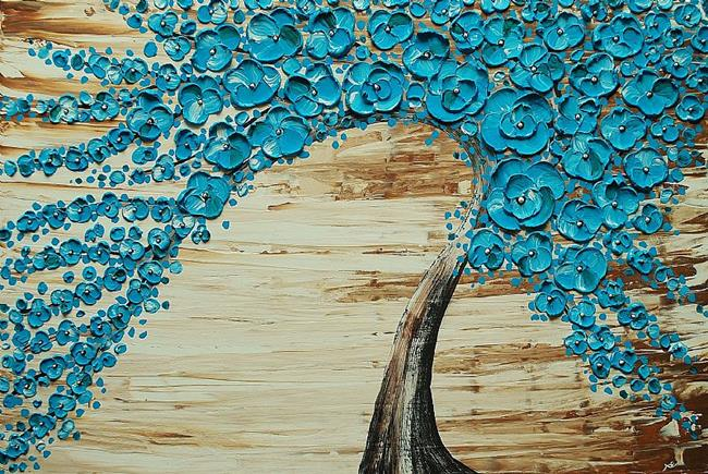 Art: The Water Blossom Tree 03/50 (sold) by Artist Amber Elizabeth Lamoreaux