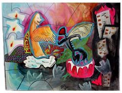 Art: Wars Deux ~ Sold! by Artist Natasha Wescoat