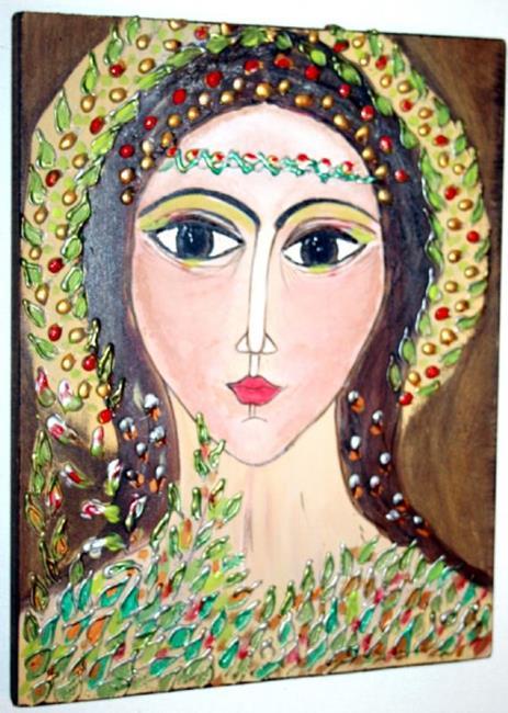 Art: FOREST ANGEL-sold by Artist LUIZA VIZOLI