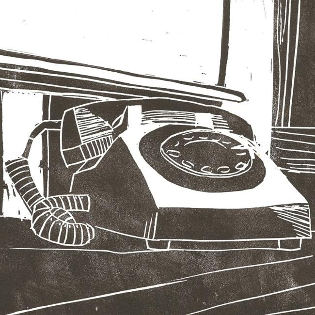 Art: The Phone by Artist Aimee L. Dingman