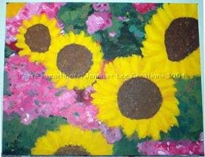 Detail Image for art SUNFLOWER DUO