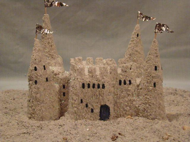 Art: Sandcastle by Artist Leea Baltes
