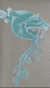 Detail Image for art Scary Fish