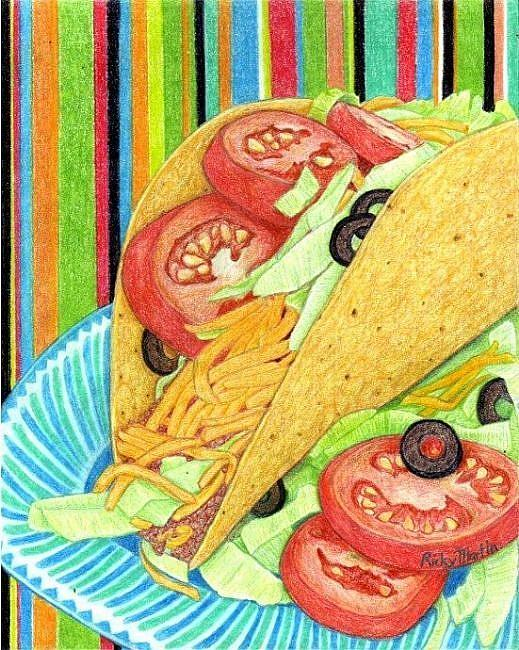 Art: Fiesta Mexicana by Artist Ulrike 'Ricky' Martin