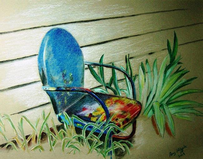 Art: Grandma's Chair by Artist Amy J Hipple
