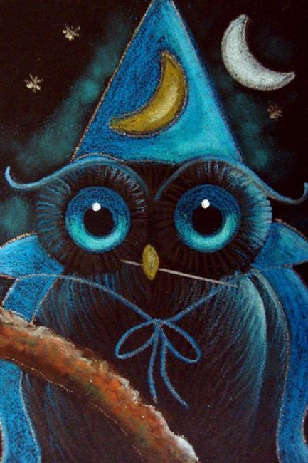 halloween owl paintings