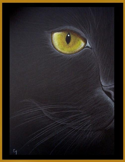 Black Cat - Batman (SOLD) - by Cyra R. Cancel from Gallery