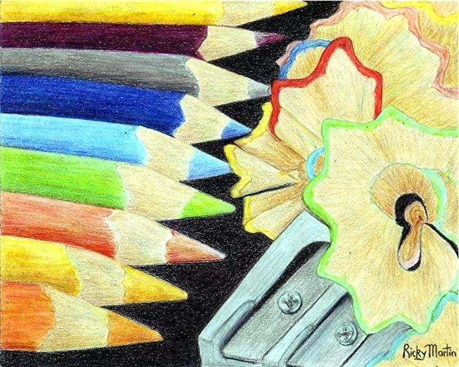 Art: Colored Pencils - sold by Artist Ulrike 'Ricky' Martin