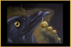 Detail Image for art RAVEN PROFILE 26 - TOPAZ