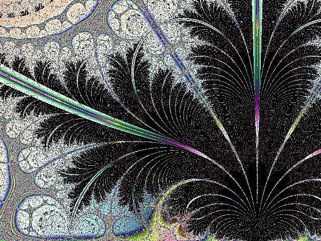 Art: Lacy Fronds by Artist Ulrike 'Ricky' Martin
