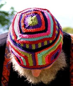 Detail Image for art Funky Knitted Hat
