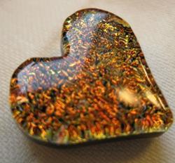 Art: Heart of Fire by Artist Drita Harris