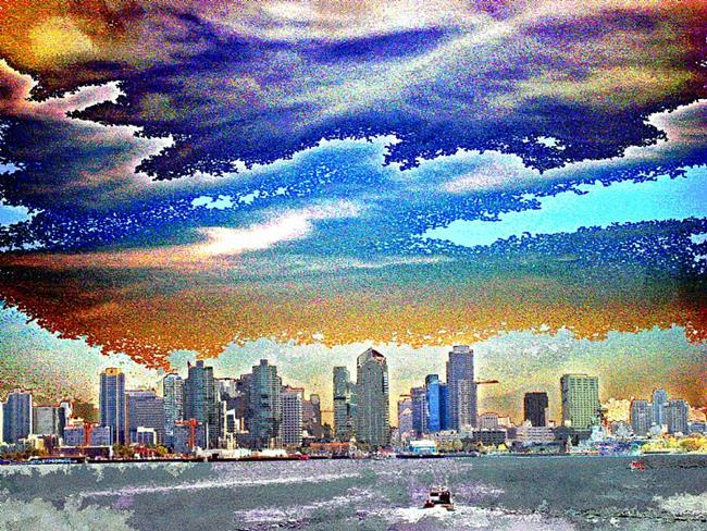 about the art title san diego skyline
