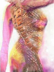 Art: Primal Spring by Artist Doe-Lyn
