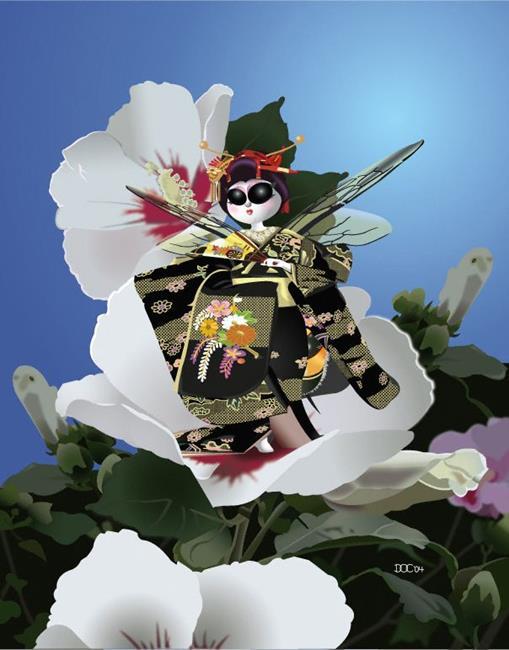 Art: DocWork Designs B's Series Natsuko  by Artist Martha Di Giovanni