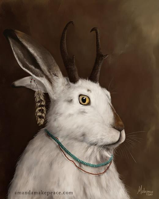Art: The Elder by Artist Amanda Makepeace