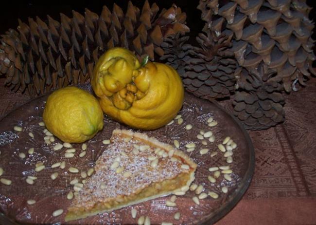 Art: Monster Lemon Pine Nut Tart by Artist Joseph J. Callahan