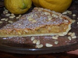 Detail Image for art Monster Lemon Pine Nut Tart