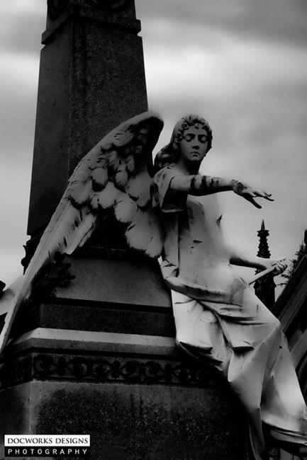 Art: Gothic Angel by Artist Martha Di Giovanni
