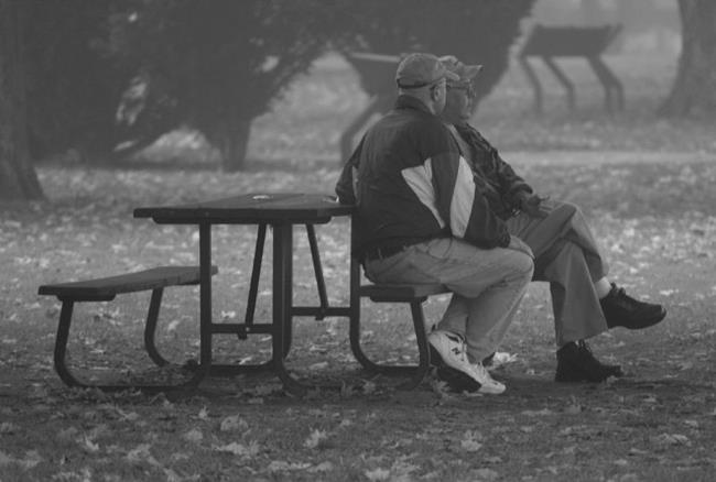 Art: early morning conversation by Artist W. Kevin Murray